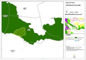 Peta Indikatif Desa Air Buluh