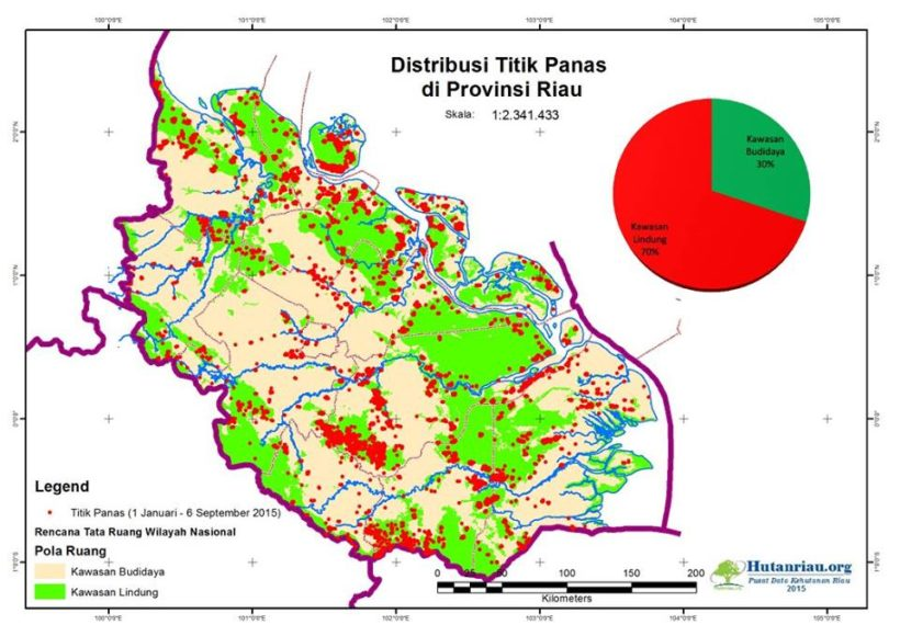 Geospatial data analysis for Riau One Map