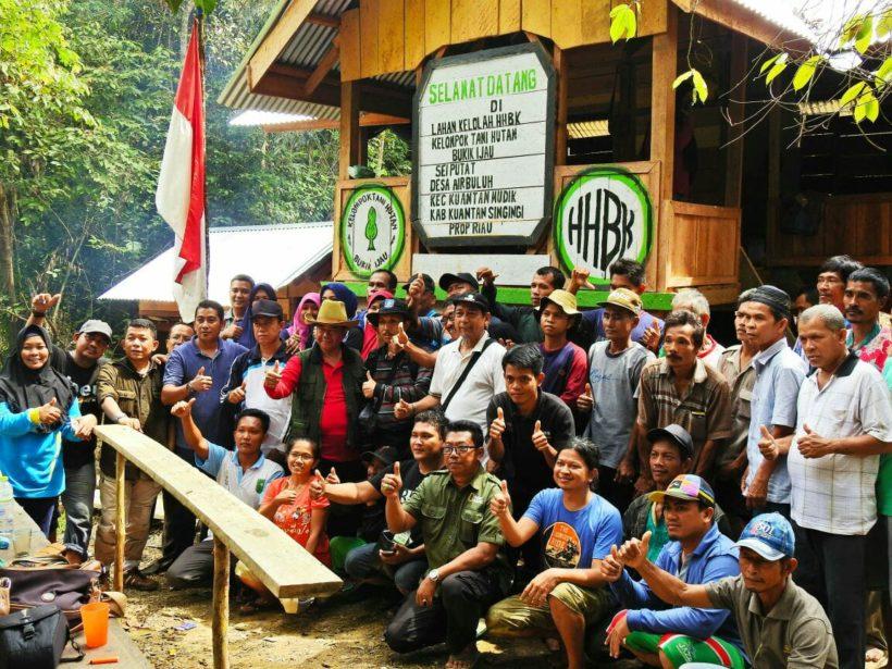 Duka Harimau Sumatera, Pembalak Liar Bakar Pondok KTH Bukik Ijau